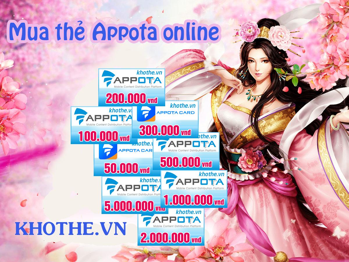 Mua thẻ Appota online, bạn đã thử chưa