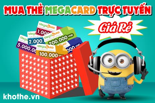Mua Thẻ Megacard Online Siêu Nhanh
