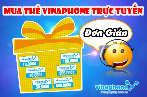 Nạp Tiền Điện Thoại Vinaphone Dễ Dàng - Mua Thẻ Vinaphone Trực Tuyến Đơn Giản