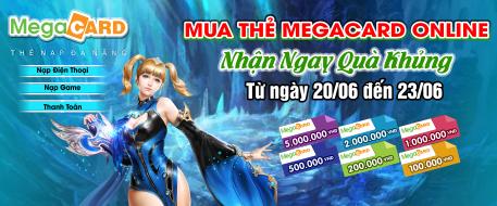 Mua Thẻ Megacard Online - Nhận Ngay Quà Khủng