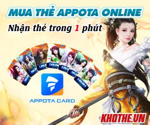 Cách mua thẻ Appota dễ chưa từng thấy
