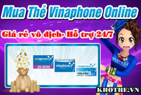 Chi tiết cách mua thẻ Vinaphone online giá rẻ vô địch-hỗ trợ 24/7