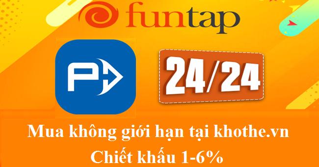 Nạp Thẻ Funcard Giá Rẻ Nhất Không Giới Hạn Tại Khothe.vn