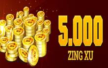 5000 Zing Xu - Bán Zing xu Vinagame Giá Rẻ