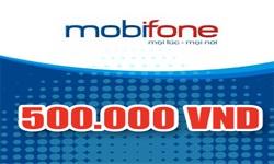 Mua Thẻ Điện Thoại Mobifone 500k Trực Tuyến Siêu Tiết Tiệm