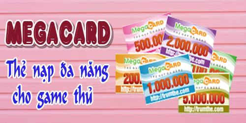 Những Tựa Game Gắn Liền Với Thẻ Megacard