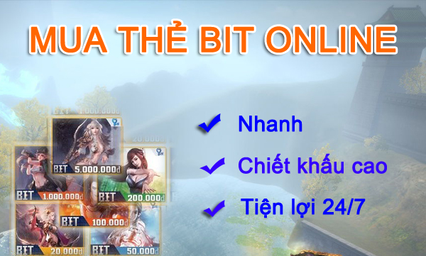 Chỉ Mất 3 Phút Để Mua Thẻ Bit Online Nạp Vào Game