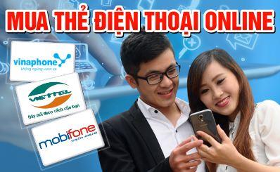 Cách mua thẻ điện thoại online tốt nhất thị trường