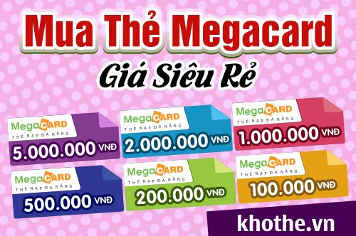 Thẻ Megacard Là Gì - Mua Thẻ Megacard Ở Đâu