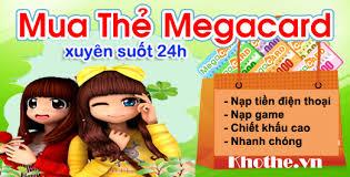 Mua Thẻ Megacard Cực Dễ Cực Nhanh Tại Khothe.vn