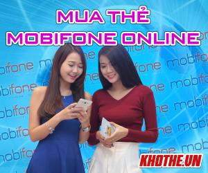 Mua thẻ mobiphone thanh toán dễ dàng qua visa, materscard.