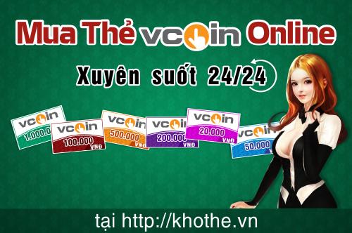 Mua Thẻ Vcoin online - Cách Đơn Giản Hóa Để Nạp Tiền Cho Các Game Của VTC