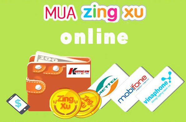 Cách mua thẻ zing online giá rẻ