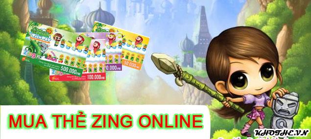 Mua Thẻ Zing Online Thanh Toán Xong 3 Phút Là Có Ngay