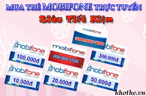 Mua Thẻ Mobifone Nạp Game Với Giá Tốt Tại Khothe.vn
