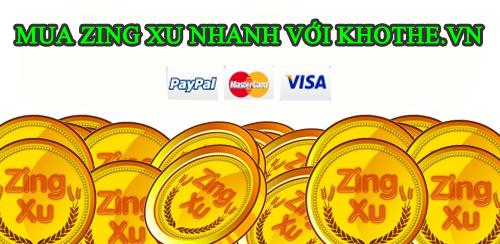 Các Bước Mua Zing Xu Tại Khothe.vn Để Nạp Tiền Game VNG Nhanh