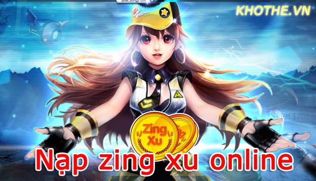 Nạp Zing Xu Online Chơi Đua Xe Tẹt Ga Với Zing Speed