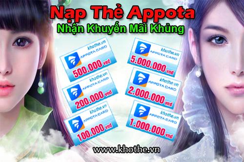 Mua thẻ Appota ở đâu với giá tiết kiệm