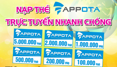Cách Mua Và Nhận Thẻ Appota Online Tại Khothe.vn