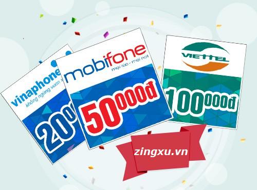 Nạp Thẻ Điện Thoại Viettel, Mobifone, Vinaphone Giá Rẻ Nhất