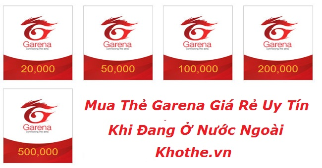Mua Thẻ Garena Online Ở Nước Ngoài Tại Website Nào Uy Tín