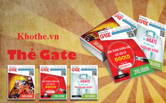 Mách Bạn Cách Mua Thẻ Gate Giá Rẻ Nhanh Nhất 3 Phút Có Thẻ Ngay