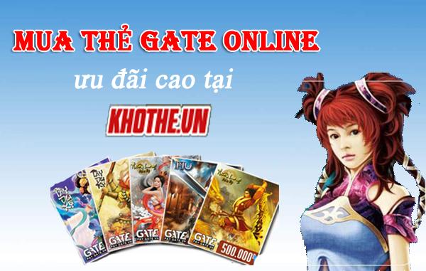 Cách mua thẻ Gate đơn giản nhất khi đang ở nước ngoài