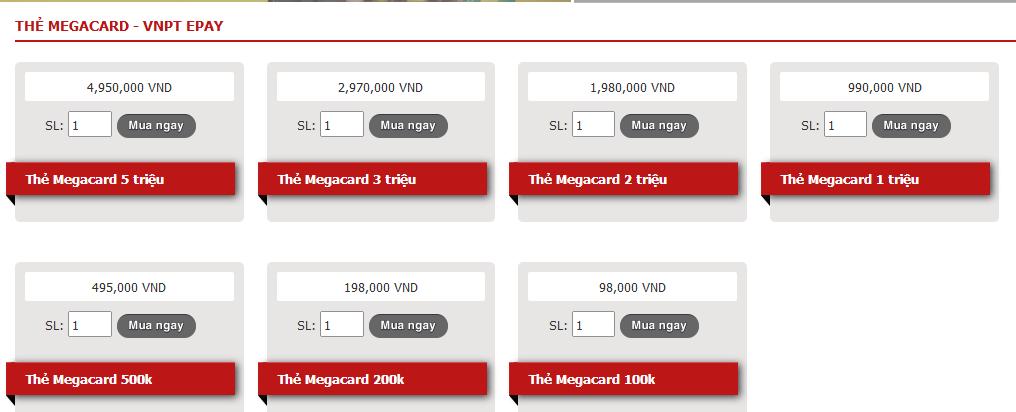 Bạn Muốn Mua Thẻ Megacard Online Nhưng Không Biết Cách?