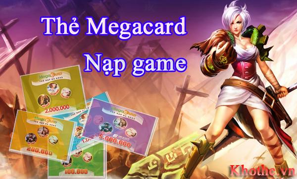 Những Lý Do Khiến Bạn Chỉ Nên Mua Thẻ Megacard Để Nạp Game