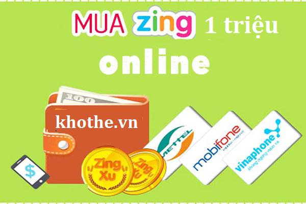 Cách Mua Thẻ Zing 1 Triệu Online Siêu Nhanh Siêu Rẻ