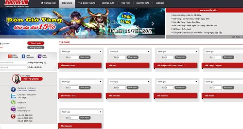Nhận Thẻ Liền Tay Khi Mua Thẻ Game Online Tại Khothe.vn