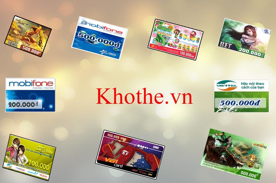 Tại Sao Mua Thẻ Game Online Tại Website Khothe.vn?