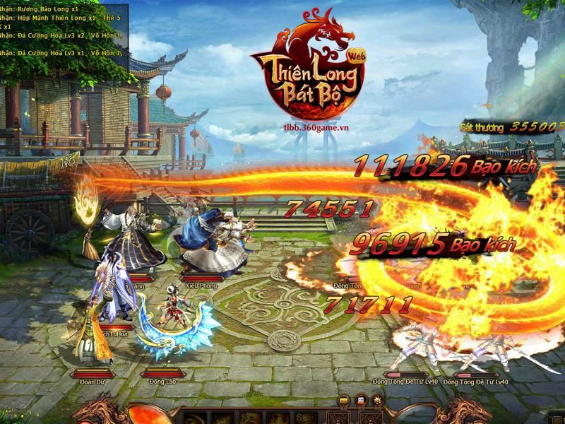 Thiên Long Bát Bộ, game cũ nhưng vẫn không kém phần hấp dẫn
