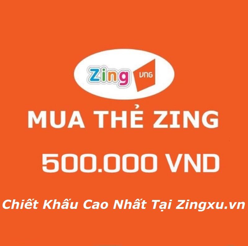 Hướng Dẫn Mua Zing Card VNG 500k Online Giá Rẻ Nhất