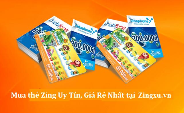 Cách Nạp Thẻ Zing Vinagame Giá Rẻ Nhất Làng Game Việt Nam