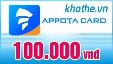 Thẻ Appota 100k