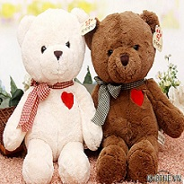 Gấu Teddy Nơ Kẻ Vá Tim