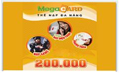 Thẻ Megacard 200k
