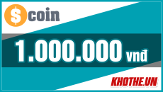 Thẻ Scoin 1 triệu
