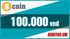 Thẻ Scoin 100k