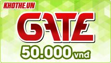Gate 50k