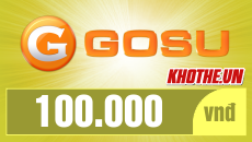 Thẻ Gosu 100k