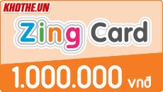 Zing card 1 triệu