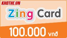 Zing card 100k