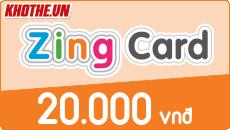 Zing card 20k