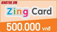 Zing card 500k