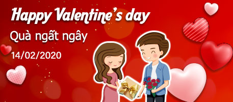 happy valentine's day - quà ngất ngây